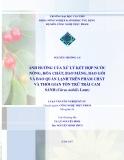 Luận văn: ẢNH HƯỞNG CỦA XỬ LÝ KẾT HỢP NƯỚC NÓNG, HÓA CHẤT, BAO MÀNG, BAO GÓI VÀ BẢO QUẢN LẠNH TRÊN PHẨM CHẤT VÀ THỜI GIAN TỒN TRỮ TRÁI CAM SÀNH (Citrus nobilis Lour)