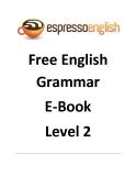 Free English Grammar E-Book Level 2