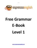 Free Grammar E-Book Level 1
