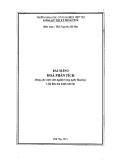 Bài giảng hóa phân tích - Ths Nguyễn Bá Sâm
