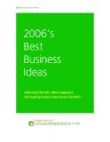 2006's best biz ideas
