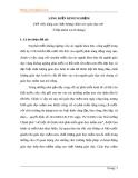 SÁNG KIẾN KINH NGHIỆM (Về việc nâng cao chất lượng chăm sóc–giáo dục trẻ  ở lớp nhóm 24-36 tháng)