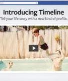 Việc cần làm khi chuyển sang giao diện Timeline của Facebook