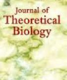 Journa lof Theoretical Biology - Author's Accepted Manuscript