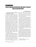 """Báo cáo """" Vấn đề cải thiện quan hệ giữa bộ máy hành chính và công dân trong hai mươi năm đổi mới """""""