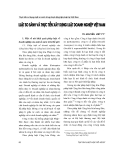 """Báo cáo """" Luật so sánh và thực tiễn xây dựng Luật doanh nghiệp Việt Nam """""""