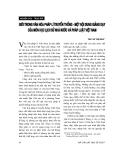 """Báo cáo """"Giới trong văn hoá pháp lí truyền thống – một nội dung giảng dạy của môn học Lịch sử nhà nước và pháp luật Việt Nam """""""
