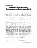 """Báo cáo """" Những qui định của pháp luật hiện hành về hoạt động cho vay đối với doanh nghiệp nhỏ và vừa """""""