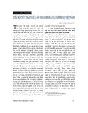 """Báo cáo """" Chế độ thử thách của án treo trong luật hình sự Việt Nam """""""