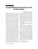 """Báo cáo """"Các qui định về bình đẳng giới trong lĩnh vực luật lao động, đối chiếu và khuyến nghị """""""