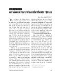 """Báo cáo """"  Một số vấn đề pháp lí về bảo hiểm tiền gửi ở Việt Nam """""""