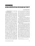 """Báo cáo """" Mô hình bảo hiểm tiền trong thời kỳ hội nhập kinh tế quốc tế """""""