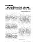 """Báo cáo """" Quyền tài phán đối với tội phạm về ma tuý – so sánh quy định của các công ước quốc tế về kiểm soát ma tuý với pháp luật Việt Nam """""""