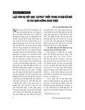 """Báo cáo """"   Luật hình sự Việt Nam – sự phát triển trong hai mươi năm đổi mới và các định hướng hoàn thiện """""""