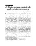 """Báo cáo """"  Một số ý kiến về căn cứ kháng nghị giám đốc thẩm theo Điều 273 Bộ luật tố tụng hình sự năm 2003 """""""