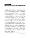 """Báo cáo """"  Pháp luật về đầu tư ở Việt Nam – quá trình hình thành và phát triển """""""