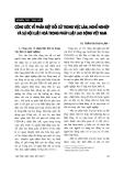 """Báo cáo """" Công ước về phân biệt đối xử trong việc làm, nghề nghiệp và sự nội luật hóa trong pháp luật lao động Việt Nam """""""