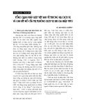 """Báo cáo """" Tổng quan pháp luật việt nam về thương mại dịch vụ và cam kết mở cửa thị trường dịch vụ khi gia nhập WTO """""""