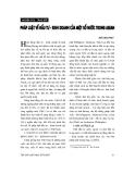 """Báo cáo """" Pháp luật về đầu tư - kinh doanh của một số nước trong ASEAN """""""