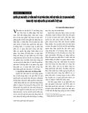 """Báo cáo """"    Quyền lực nhà nước là thống nhất và sự phân công, phối hợp giữa các cơ quan nhà nước trong việc thực hiện quyền lực nhà nước ở Việt Nam """""""