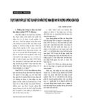 """Báo cáo """"Thực trạng pháp luật thuế thu nhập cá nhân ở Việt Nam hiện nay và phương hướng hoàn thiện """""""