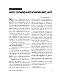 """Báo cáo """" Vai trò của ASEAN trong việc giải quyết các tranh chấp về biên giới, lãnh thổ """""""
