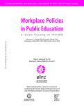 Workplace Policies in Public Education