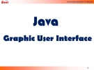The Java programming experience