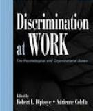 Sách: Discrimination at Work The Psychological and Organizational Bases