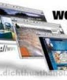 Chọn trình duyệt Web tốt nhất - Phần 1