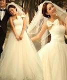 Tự tạo tóc búi trễ xinh như công chúa trong ngày cưới