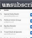 Ngăn chặn những email gây phiền toái với UnsubscribrI