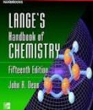 LANGE'S  HANDBOOK  OF  CHEMISTRY