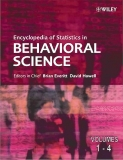 ENCYCLOPEDIA STATISTICS IN BEHAVIORAL SCIENCE