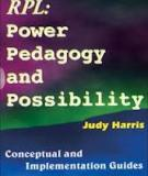 RPL- Power Pedagogy and Possibility