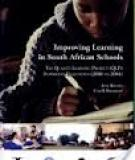 Improving Learning in South African Schools
