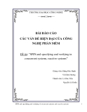 """Đề tài: """"SPIN and specifying and verifying in concurrent systems, reactive systems"""""""