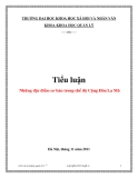 Tiểu luận: Những đặc điểm cơ bản trong chế độ Cộng Hòa La Mã