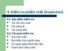 Kiểm tra phẩm chất (Inspection)