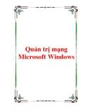 Giáo trình Quản trị mạng Microsoft Windows