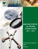 BÁO CÁO VĨ MÔ VÀ THỊ TRƯỜNG CHỨNG KHOÁN 2011-2012