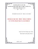 TIỂU LUẬN:MỐI QUAN HỆ THẾ - PHÁP - THUẬT TRONG TƯ TƯỞNG PHÁP TRỊ CỦA HÀN PHI TỬ
