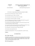 Nghị quyết số 82/2012/NĐ-CP
