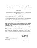 Quyết định số 1583/QĐ-TTg