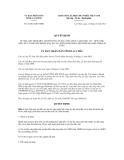 Quyết định số 32/2012/QĐ-UBND
