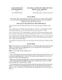 Quyết định số 2180/QĐ-UBND