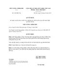 Quyết định số 1425/QĐ-TTg