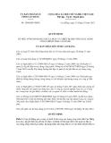 Quyết định số 1580/QĐ-UBND