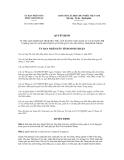 Quyết định số 63/2012/QĐ-UBND