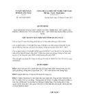 Quyết định số 1655/QĐ-UBND